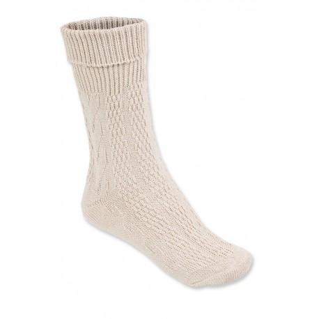 Socken Klassisch Natur