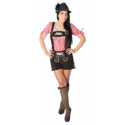Damenlederhose Gretel inkl. Träger