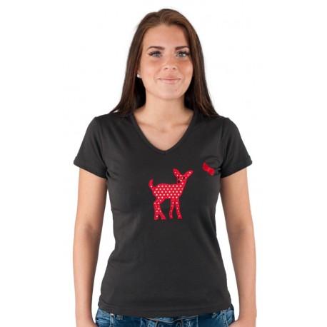 T-Shirt Daffy Anthrazit
