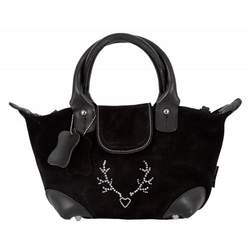 handtasche lady edelweiss mit strass alpenfashion. Black Bedroom Furniture Sets. Home Design Ideas