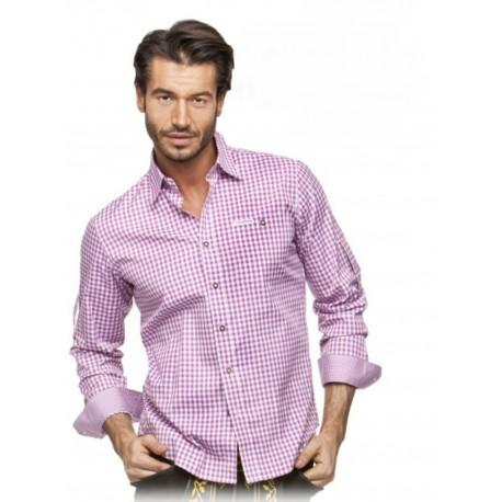 Trachtenhemd Campos Beere