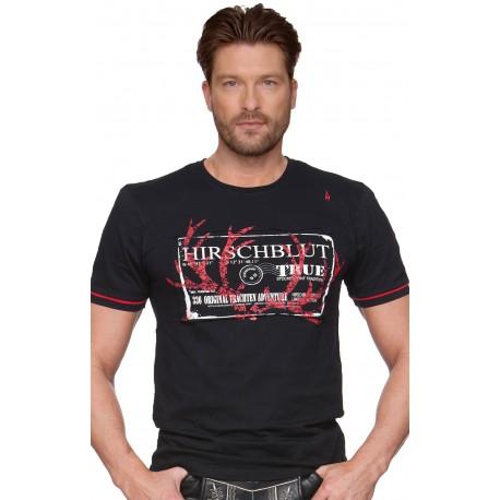 Trachten T-Shirt Rigo schwarz