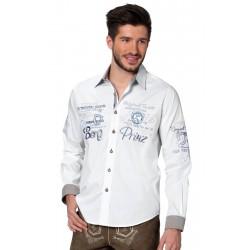 Trachtenhemd Cliff Weiß