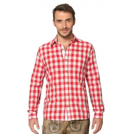 Trachtenhemd Dean Rot