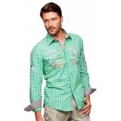 Trachtenhemd Cliff Grün