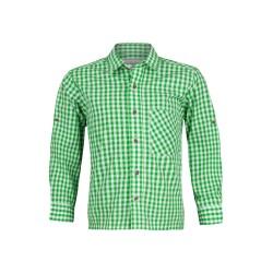 Kinderhemd Standard Karo (grün)