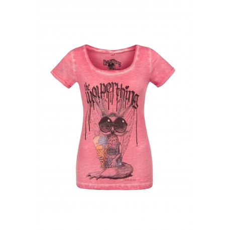Damenshirt Wolpermadl Stockerpoint / pink