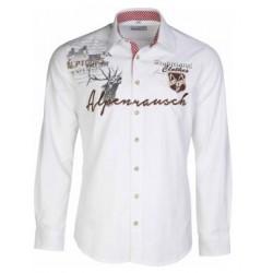 Trachtenhemd L14 Alpenrausch